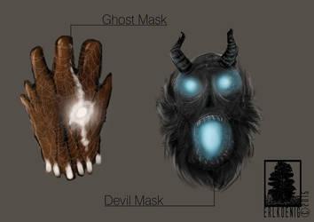 Masks by erlkoenig