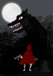 Not afraid of the wolf anymore by erlkoenig