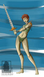 Atlantean Girl by erlkoenig