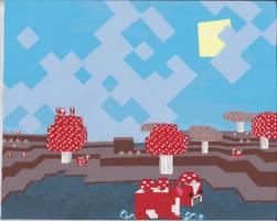 the Magical Mushroom Biome by CharmandersFlame