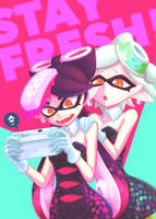 Splatoon: Callie and Marie by makaroll410