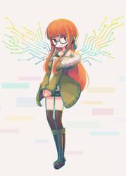 Persona 5: Futaba Sakura by makaroll410