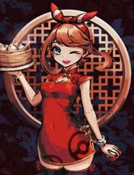 Pokemon: China dress May by makaroll410