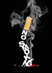 No smoking Poster 1 by Sempliok