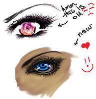 .::Practice-Eye2::. by Misa-Chan007