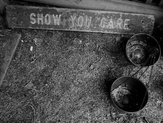 Show you care by dotofblue