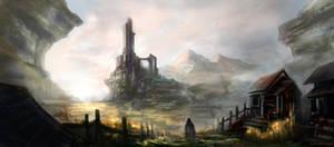 Chapter 1: Tower of Ambagis by SkyrisDesign