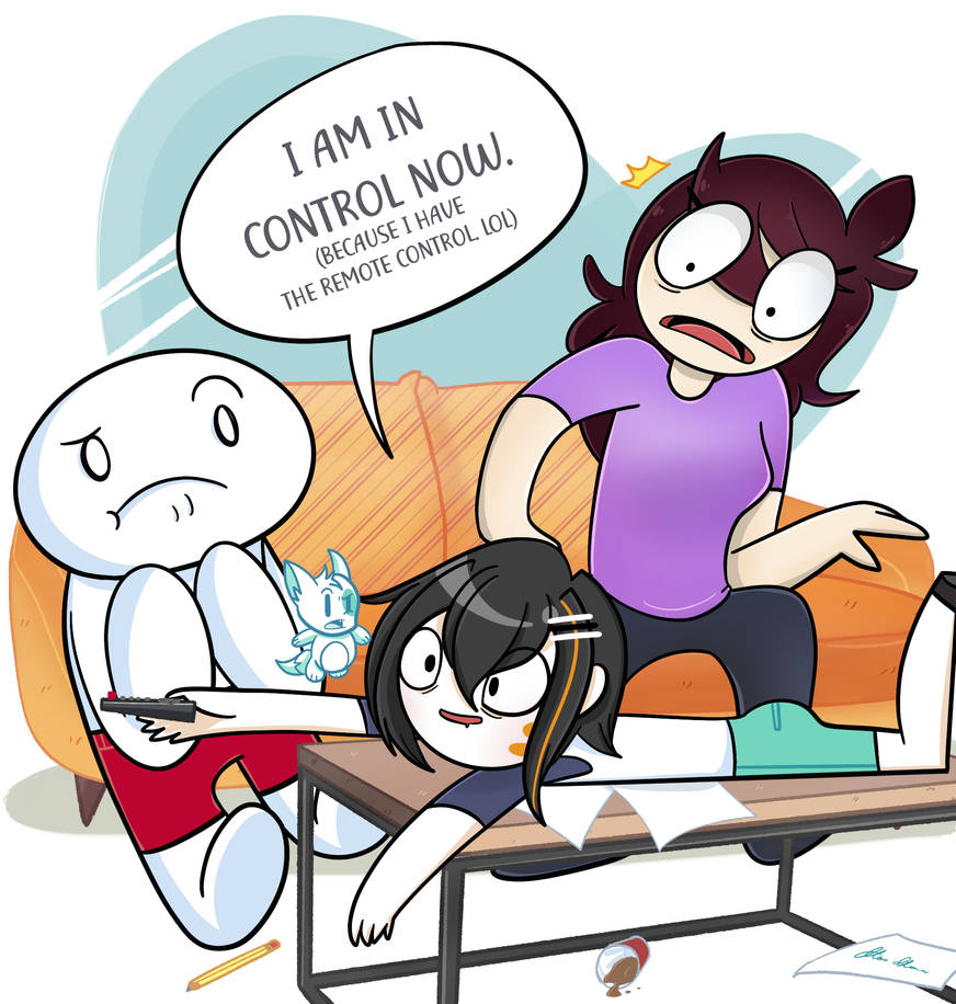 TheOdd1sOut and JaidenAnimations by MoruuAnimations