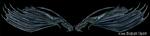 Skeletal Dragons by MorganCrone