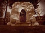 Laurel Hill Mausoleum 5 by MorganCrone
