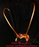 Multi-Tone Lady Loki Horned Diadem View #14 by MorganCrone