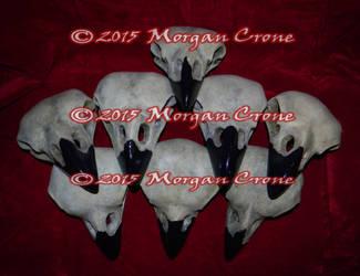 Pile of Birdy Skulls by MorganCrone