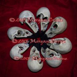Circle of Skulls by MorganCrone