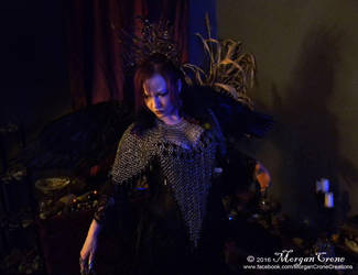 Queen of the Corvids Costume 5 by MorganCrone