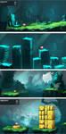 Rebirth background designs by RobinKeijzer