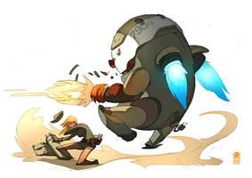 P.I.G. defense jumper by RobinKeijzer