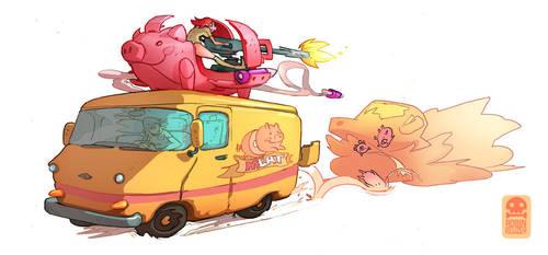 Meatwagon by RobinKeijzer