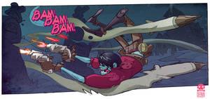Coffin Crushers: Stake dodger by RobinKeijzer