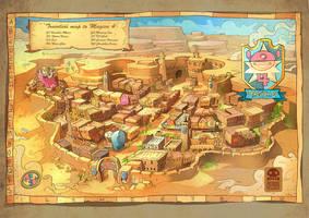 Map of Magica4 by RobinKeijzer