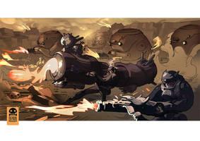 P.I.G. WAR by RobinKeijzer