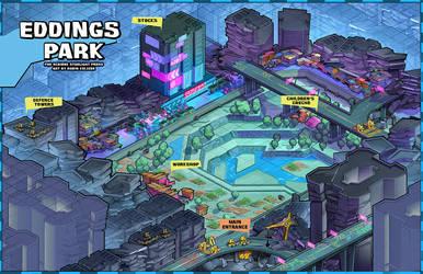 RPG Map for Wireless Soul Transmission 1 by RobinKeijzer