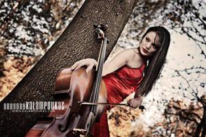 Sweet Cello III by gregkalamp