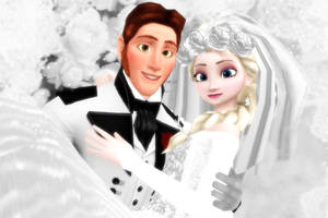 Wedding Hans and Elsa MMD [Download] by Simmeh