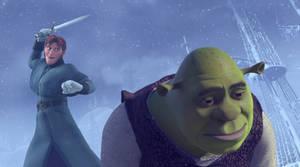 Hans kills Shrek by Simmeh