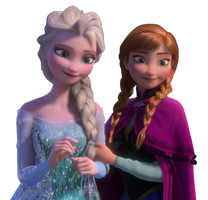 Elsa and Anna - Png by Simmeh