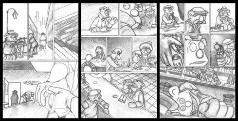 The Wolfshed 3 Pager by KristofferNS