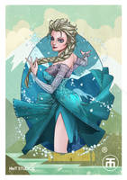 Frozen Elsa by hmtstudios