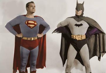 Batman v Superman - the early years by Brandtk