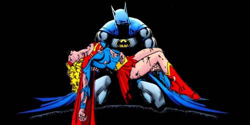 Batman and Supergirl by Brandtk