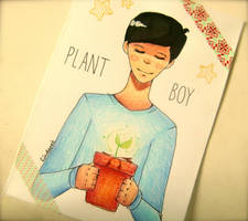 -Plant Boy- by lindepet
