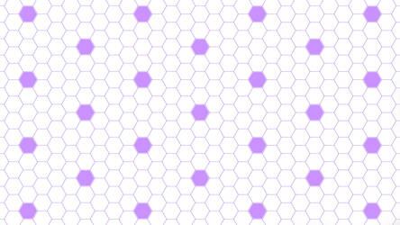 Purple Hexagon Dots 5K Wallpaper by RV770