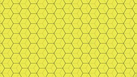 Yellow Hexagon Texture 5K by RV770