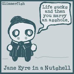 Jane Eyre in a Nutshell by glimmerfish