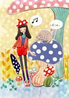 The song of mushroom by nancy0039
