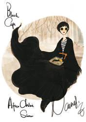 Black cape by nancy0039