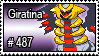 487 - Giratina by PokeStampsDex