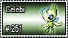 251 - Celebi by PokeStampsDex