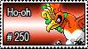 250 - Ho-oh by PokeStampsDex