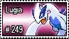 249 - Lugia by PokeStampsDex