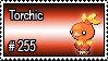 255 - Torchic by PokeStampsDex