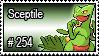 254 - Sceptile by PokeStampsDex