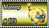 179 - Mareep by PokeStampsDex