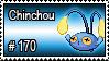 170 - Chuncou by PokeStampsDex