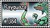 384 - Rayquaza by PokeStampsDex