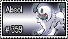 359 - Absol by PokeStampsDex