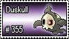 355 - Duskull by PokeStampsDex
